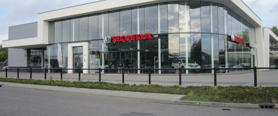 Pand Honda Verhagen Rotterdam