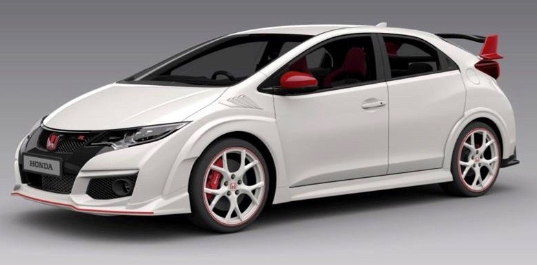 "Civic Type R 2016  ""White Edition"""