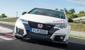 Honda Civic snelste voorwielaangedreven auto op circuits in heel Europa