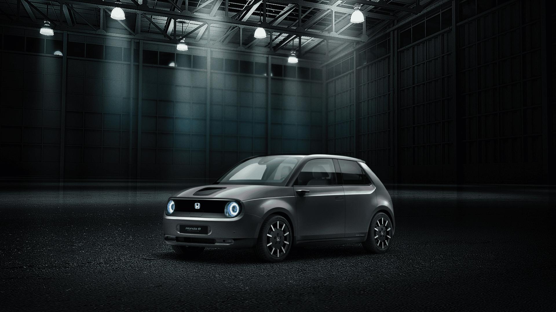 De nieuwe Honda e